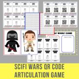 Scifi Wars QR Code Articulation Game