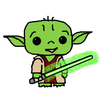 Star Wars Inspired Character Clipart