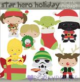 Star Wars Inspired Christmas Clip Art