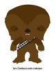 Star Wars Inspired Christmas Play Dough Mats Set of 12