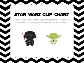 Star Wars Inspired Clip Chart 2