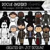 Star Wars Inspired Clipart: ROGUE ONE!