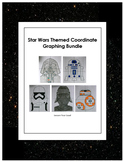 Star Wars Inspired Coordinate Graphing Bundle