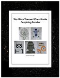 Star Wars Inspired Coordinate Graphing Bundle