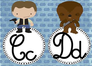 Star Wars Inspired Cursive Alphabet 2