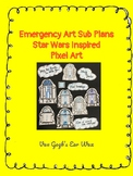 (Freebie) Star Wars Inspired Emergency Art Sub Plans