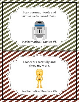 Star Wars Inspired Mathematical Practices