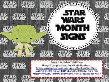 Star Wars Inspired Month