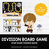 Star Wars Inspired Race to the Death Star Division Board Game with Task Cards