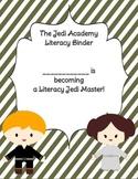 Star Wars Inspired Reading Notebook