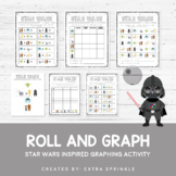 Star Wars Inspired Roll and Graph Activity + Data Sheets