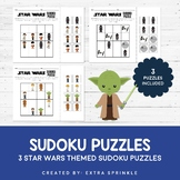 Star Wars Inspired Sudoku Puzzles