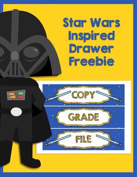 Star Wars Inspired To Do Drawer Freebie