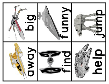 Star Wars Inspired Word Wall Expansion Pack