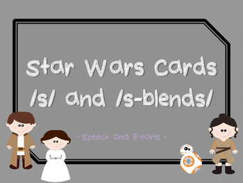Star Wars Inspired: /s/ and /s/-blend cards