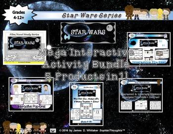 Star Wars Interactive Activity Mega Bundle