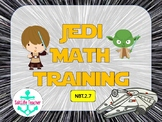 Star Wars Jedi Math Training Task Cards NBT.2.7  Adding and Subtracting 3 digits