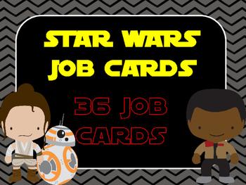 Star Wars Job cards {editable}