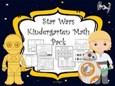 Star Wars Kindergarten Math Packet Includes Addtion, Subtraction and More