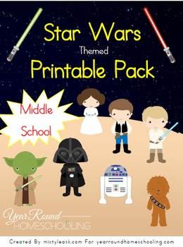 Star Wars Learning Pack (Middle School)