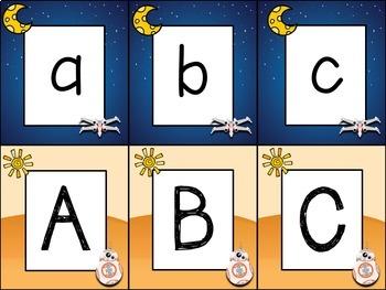 Kindergarten Day Night Sky Letter Recognition Free
