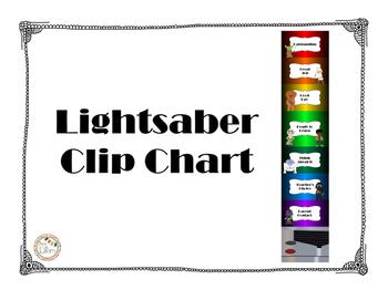 Star Wars: Lightsaber Clip Chart