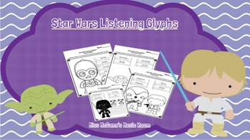 """Listening Glyphs for use with John Williams """"Star Wars"""" music"""