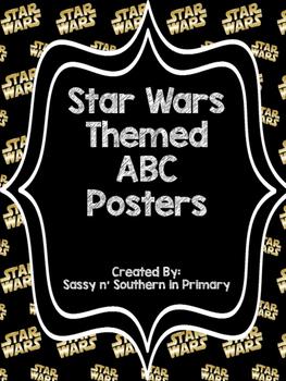 Star Wars Logo ABC Posters