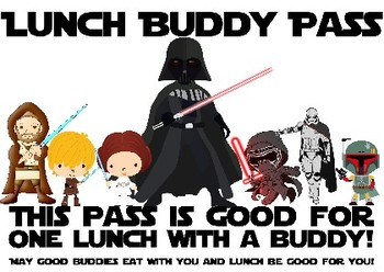Star Wars Lunch Buddy Pass