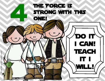 """Star Wars"" Marzano Scale"