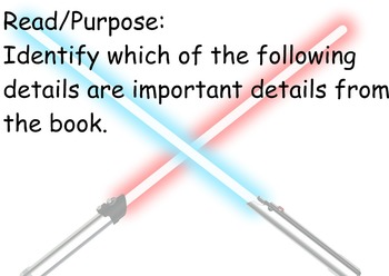 Star Wars - Masters of the Force: Guided Reading Program - Four Blocks Literacy
