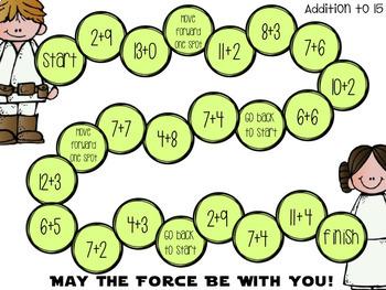 Star Wars Math Centers