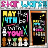 Star Wars May Test Taking Bulletin Board, Door Decoration