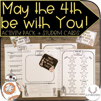 """Star Wars """"May the Fourth Be With You"""" Pack"""