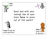 Star Wars Motivational Testing Poster