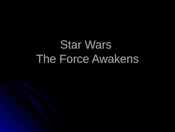 Star Wars Narrative Writing