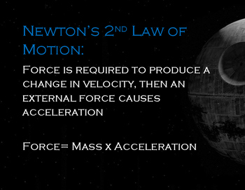 Star Wars- Newton's Laws of Motion