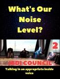 Star Wars Noise Level Poster