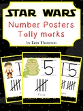 Star Wars Number Posters ~ Tally Marks