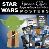Star Wars Nurse's Office Hygiene and Healthy Habits Posters