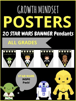 Star Wars Outer Space Growth Mindset Inspirational Posters for Teachers
