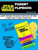 Star Wars Parent Back to School Flip Book