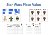 Star Wars Place Value 2nd Grade (with regrouping)