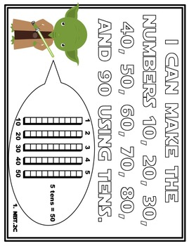 Star Wars Place Value{Games, technology, printables, craftivity, CCSS}