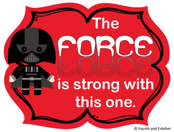 Star Wars Posters {FREEBIE}