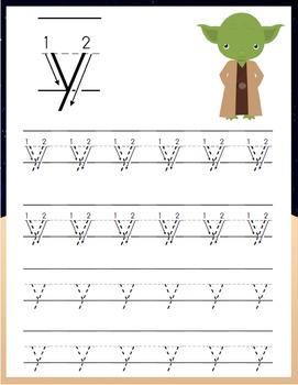 Star Wars PreK Handwriting Pack