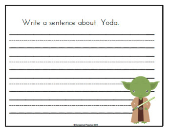 Star Wars Early Learning Activity Pack