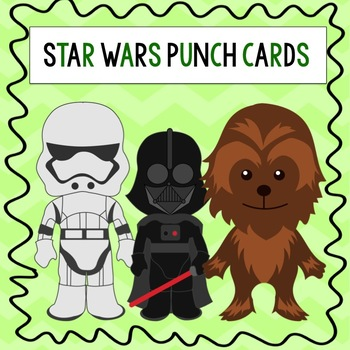 Star Wars Punch Cards