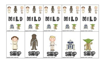 Star Wars R-Controlled Vowels