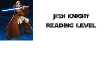 Star Wars Reading Level Printables